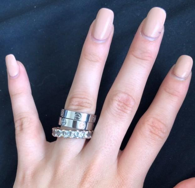 CARTIER THICK LOVE RING