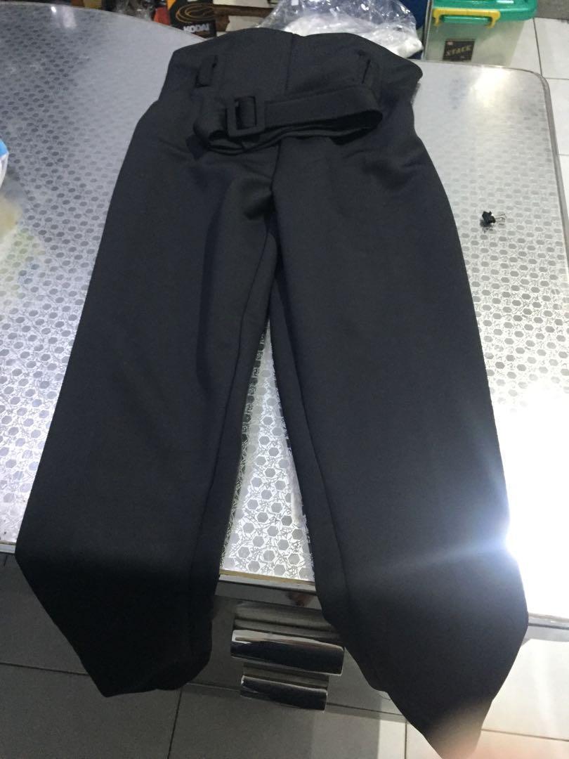 Celana Panjang Bershka Hitam