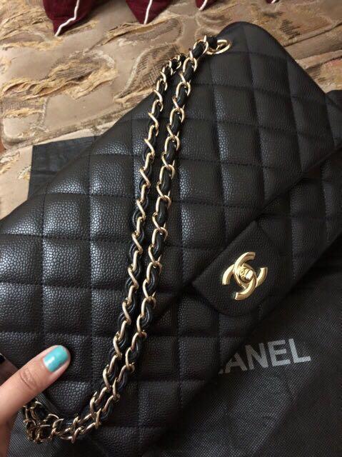 Chanel Classic tas Chanel maxi