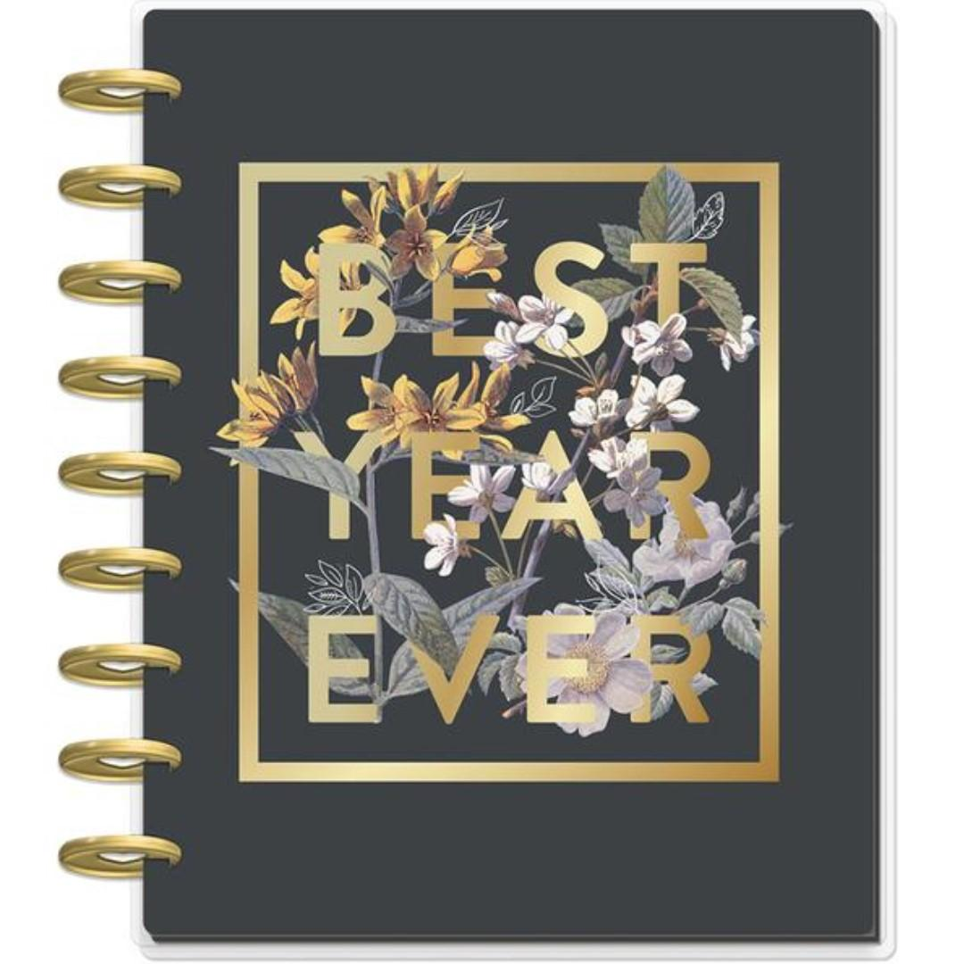 Classic Happy Planner® - Vintage Botanical - 18 Months (Jul