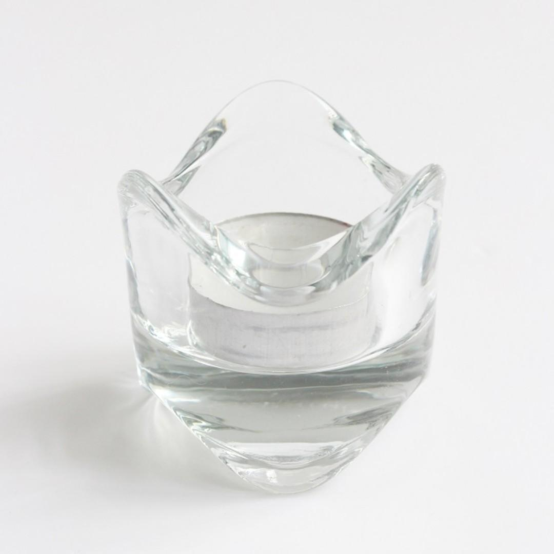 Clear Tea Light Cup (Rent)