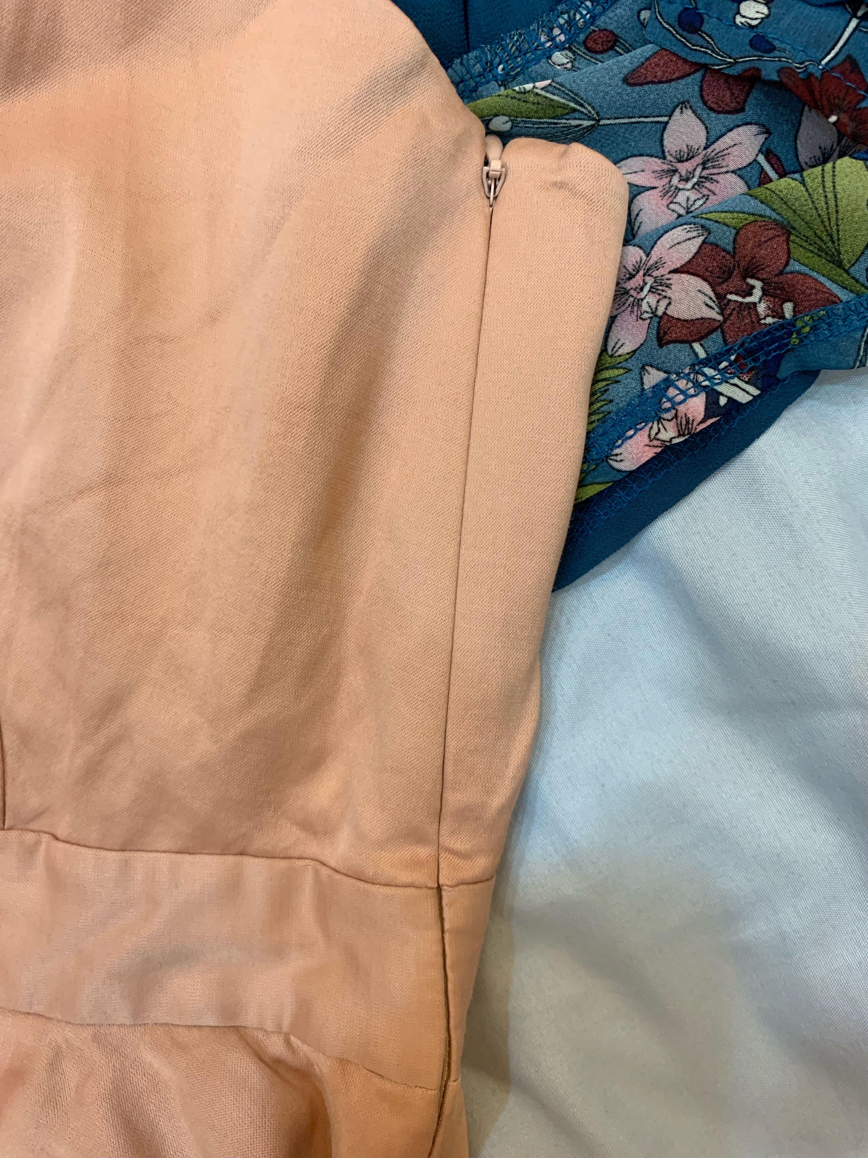 CLUB MONACO 百貨專櫃2件式上衣+雪紡薄罩衫
