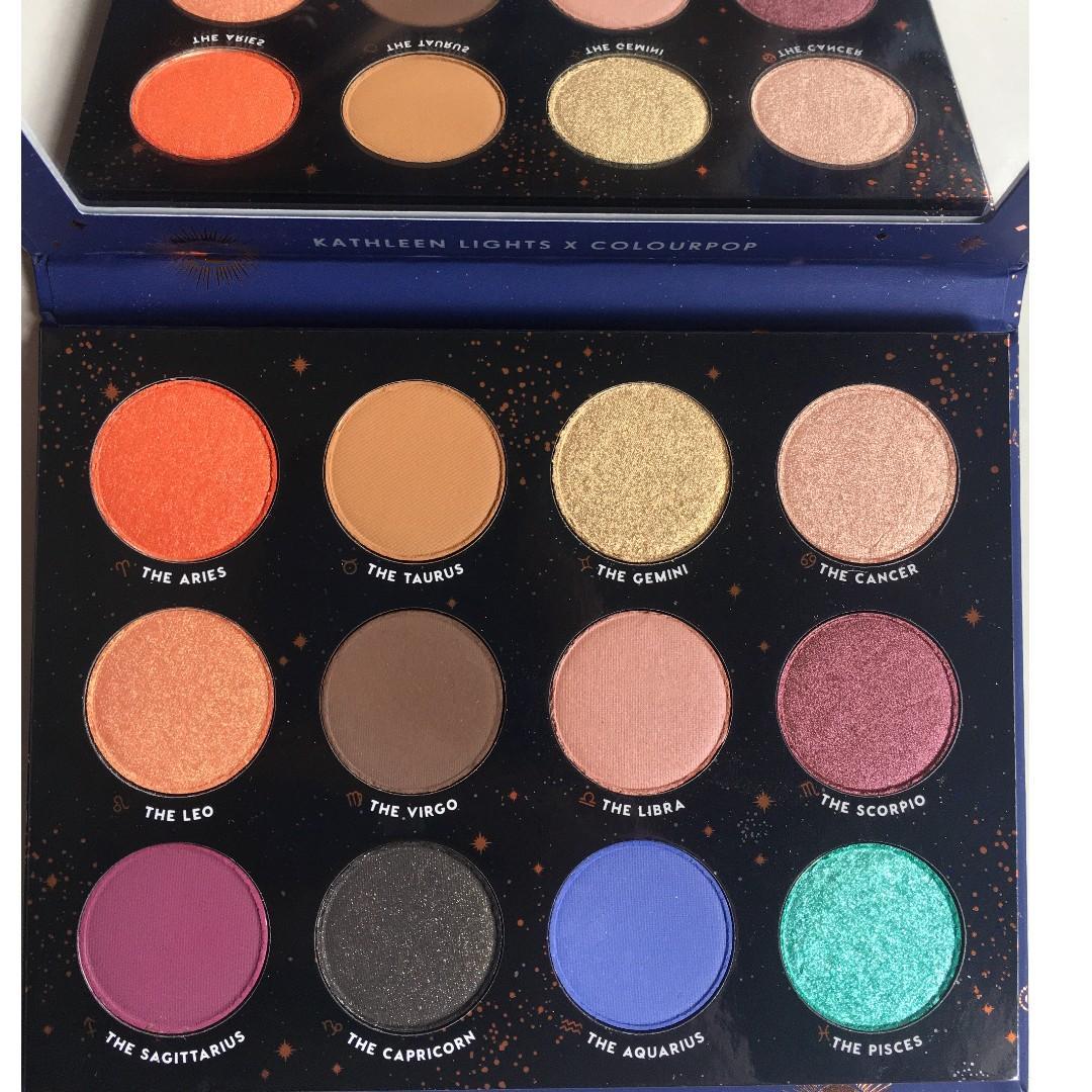 Colourpop Zodiac Eyeshadow Palette
