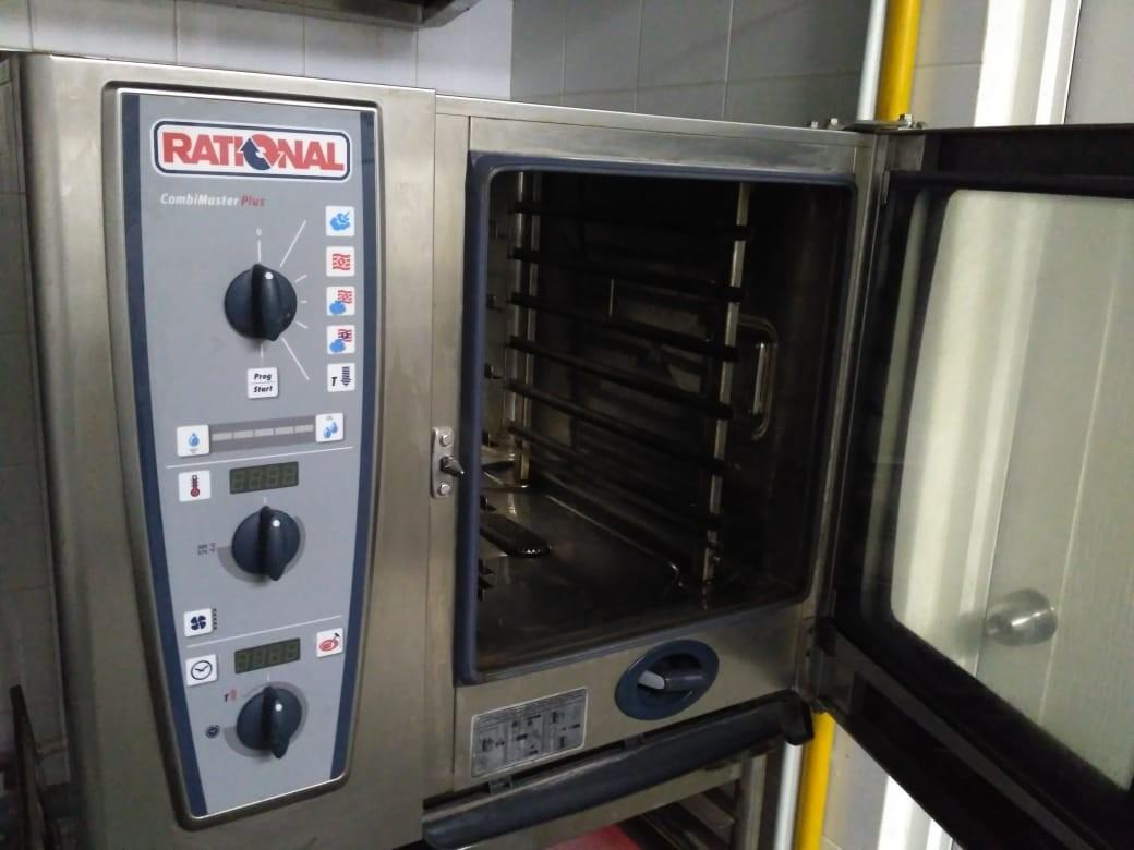 Combi Oven 61G, Half gas Oven
