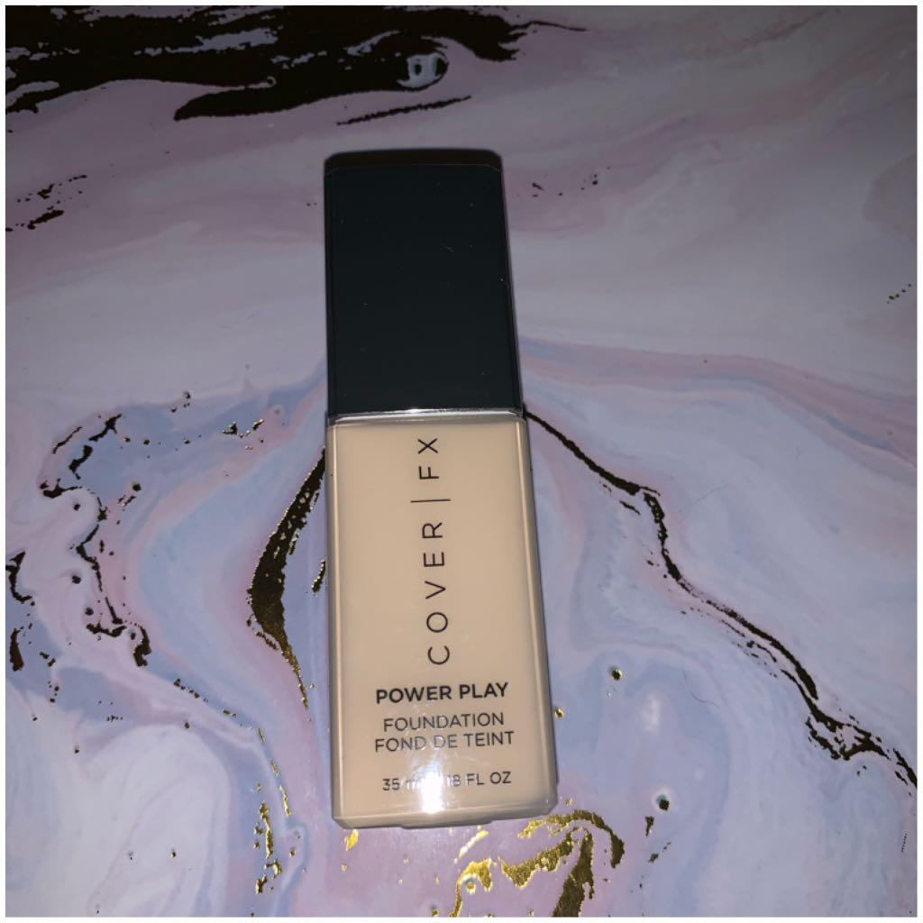 Cover FX Power Play foundation in G10