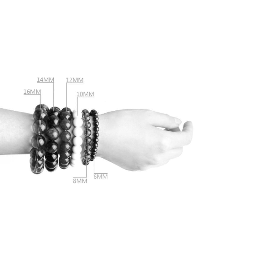 CUSTOMISED   Takrut Bracelet   Moonstone 月光石   Black Onyx 黑瑪瑙   Black Onyx Engraved Gold Six True Words 黑瑪瑙 刻金 六字真言   Premium Natural Gemstone
