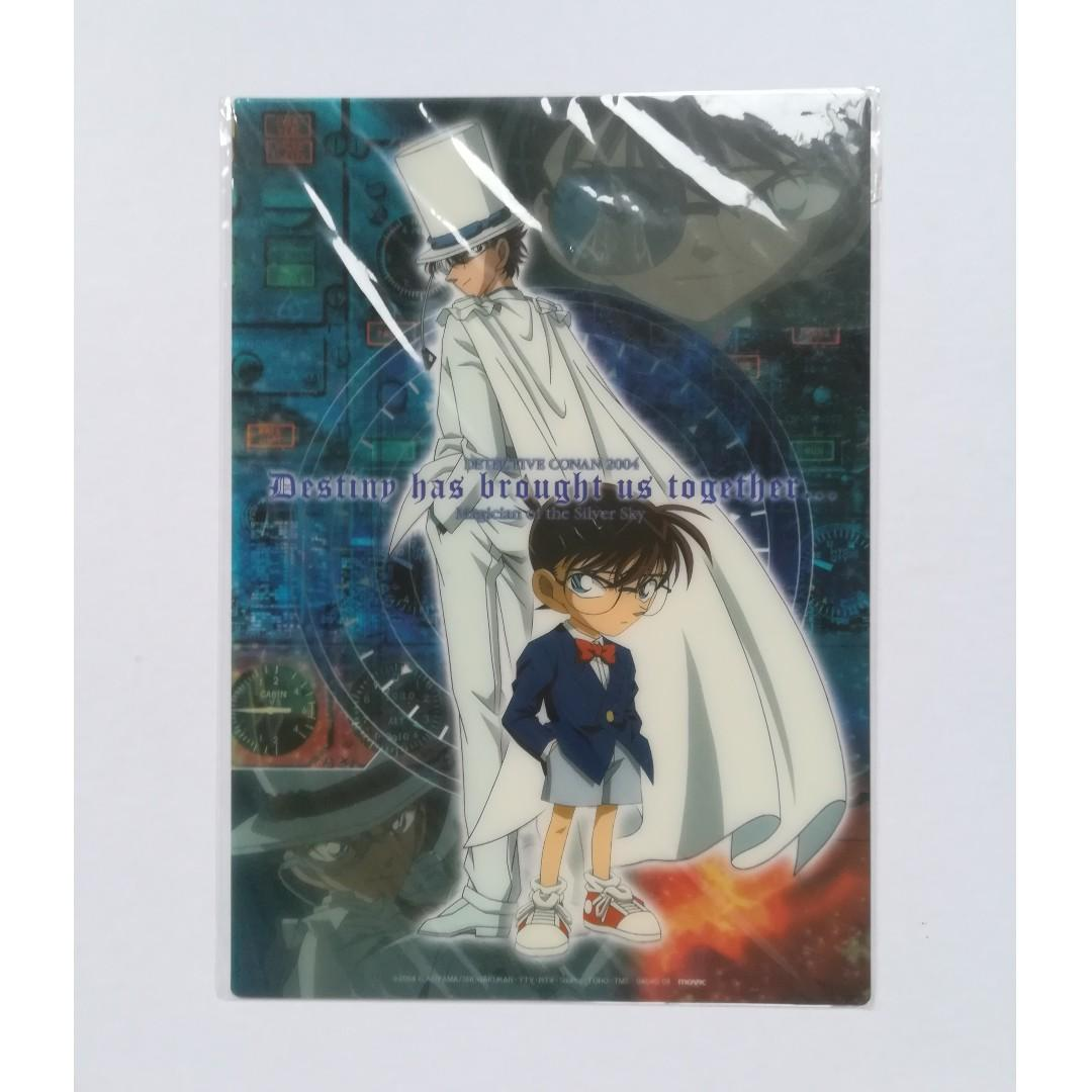 Detective Conan: Magician of the Silver Sky - Edogawa Conan & Kuroba Kaito - Clear Pencil Board / Clear Shitajiki / Clear Underlay Board