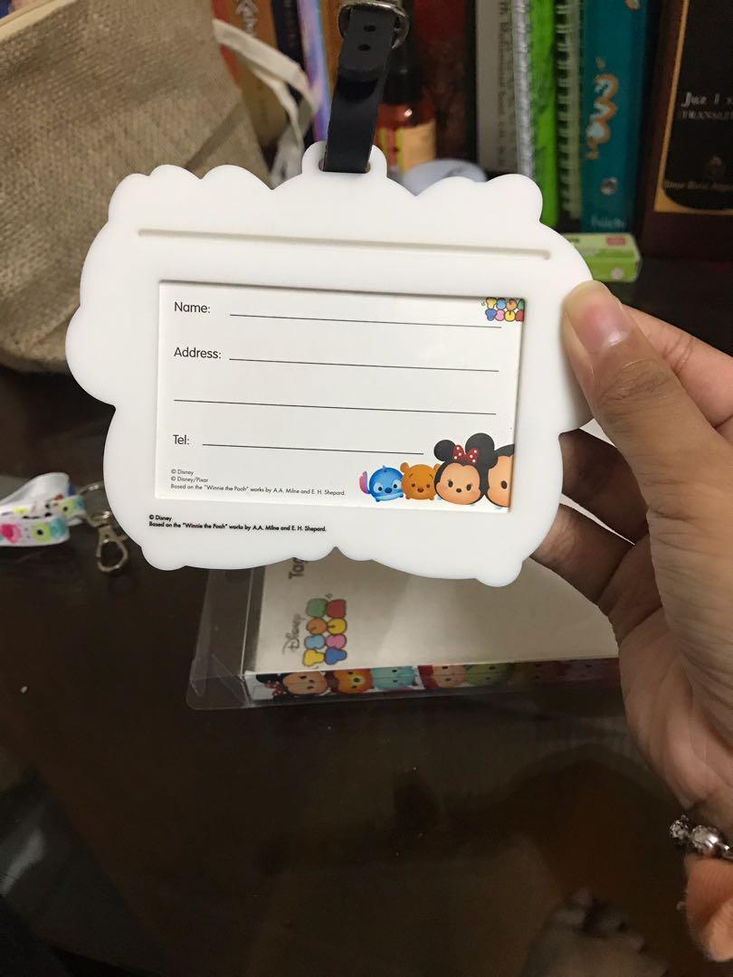 Disney Tsum Tsum tag holder