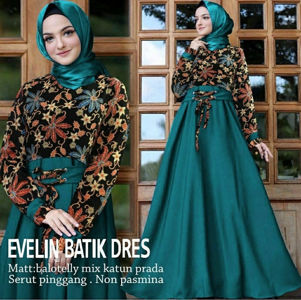 Ec Maxi Evelyn Mustard L Atasan Fashion Baju Muslim Gamis Batik Maxi Batik Wanita Fesyen Wanita Muslim Fashion Gaun Di Carousell