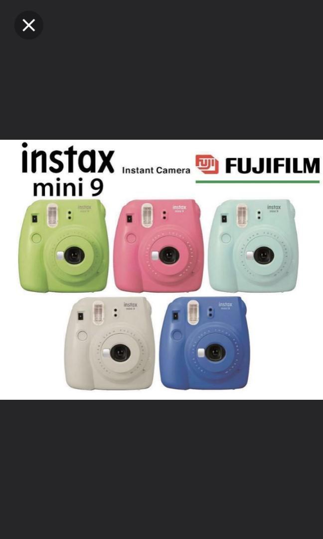 Fujifilm Polaroid camera instax mini 9