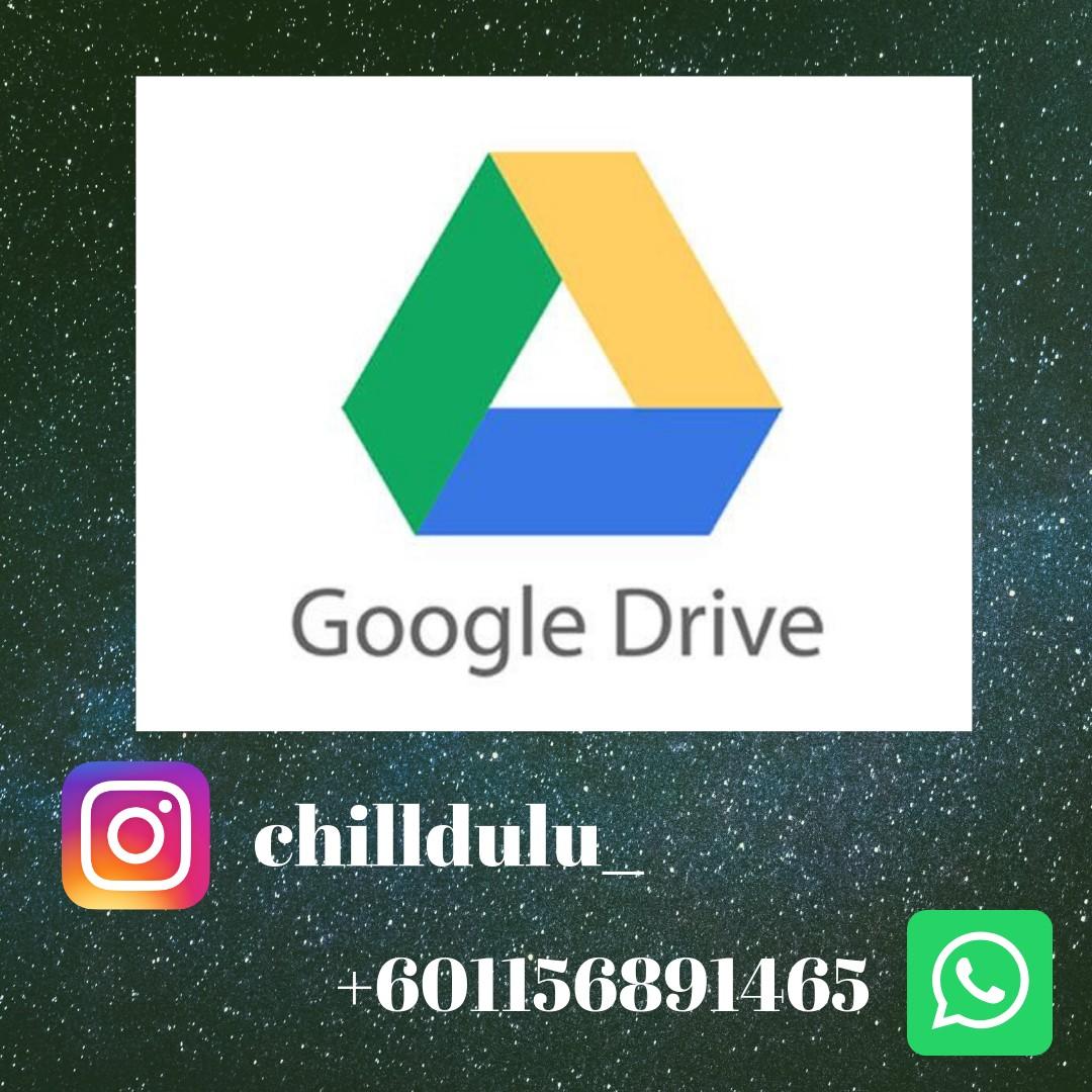 Google Drive Unlimited (Personal Education Gmail) - A lot of Bonus &  Freebies