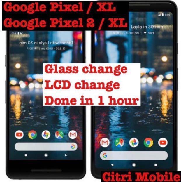 Google Pixel 2 3 3A XL Phone 1+ LCD Screen Battery Repair