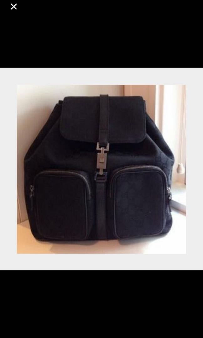 fc577345807318 Gucci Backpack, Luxury, Bags & Wallets, Backpacks on Carousell
