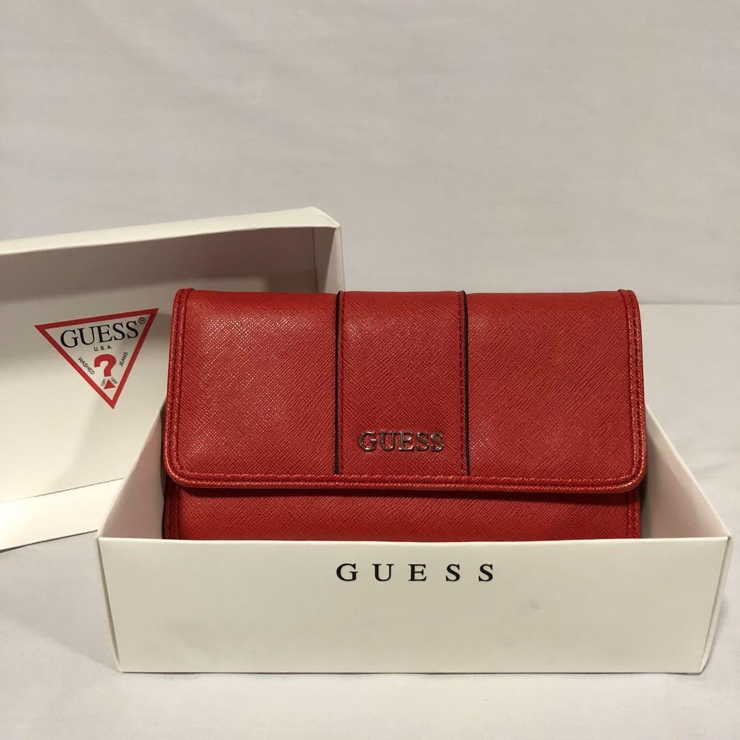 Guess Orange Wallet