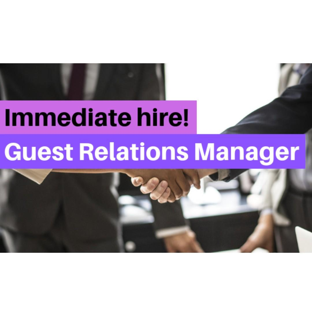 Guest Services Manager