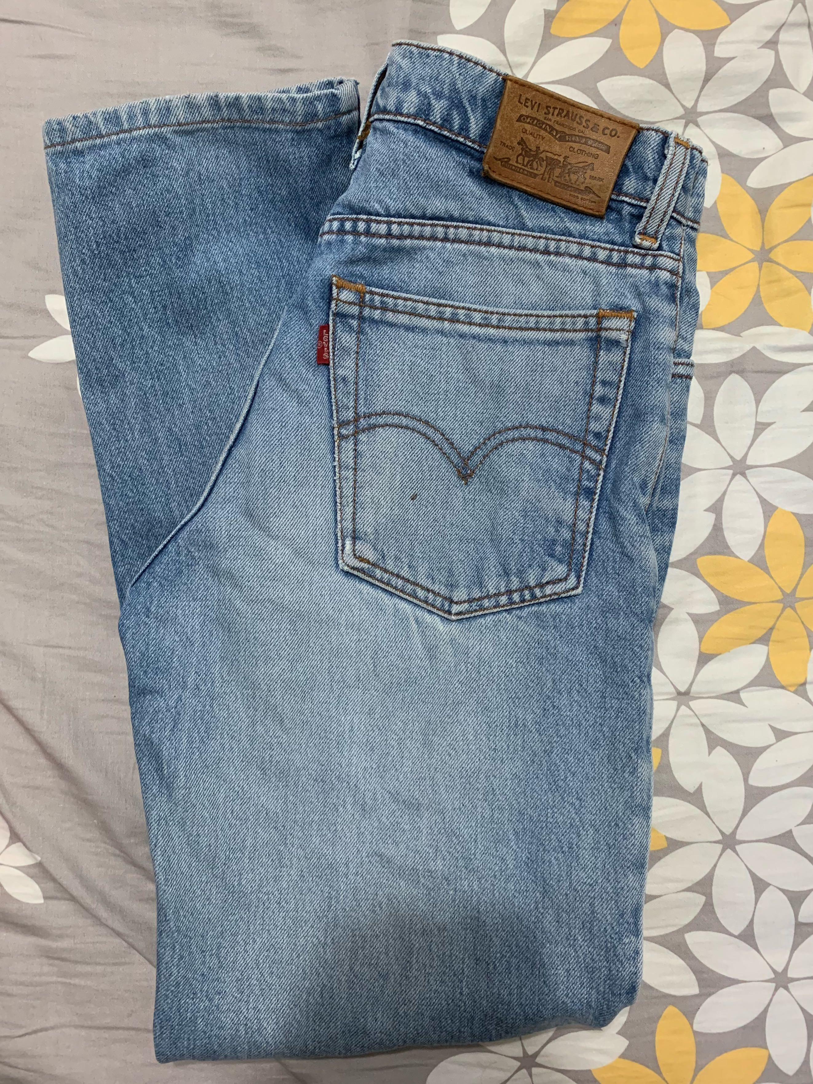 High Waist Levis Mom Jeans