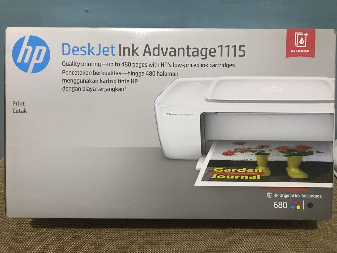 Hp Deskjet Ink Advantage 1115 Electronics Computer Parts Accessories On Carousell