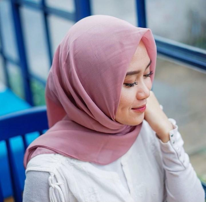 Jilbab pollycotton/bella square