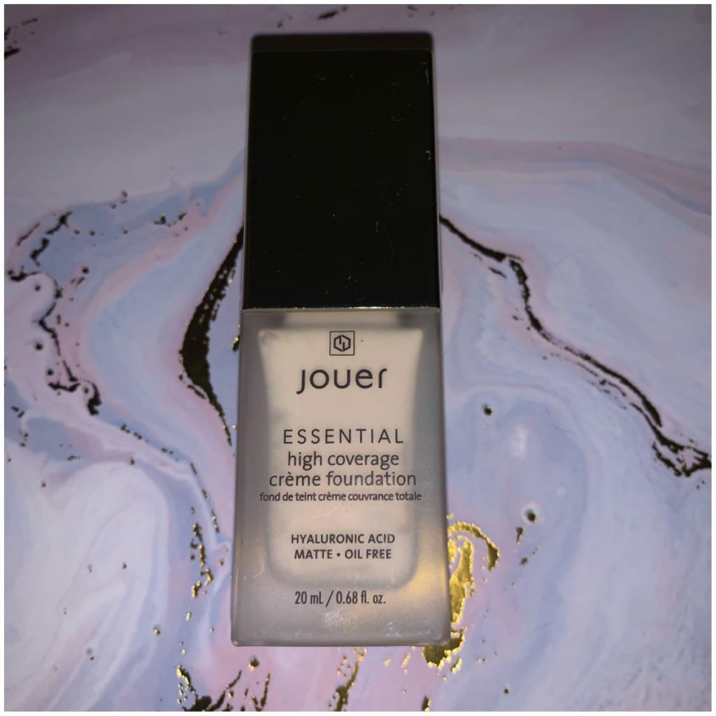 Jouer Essential High Coverage Creme foundation in Warm Ivory