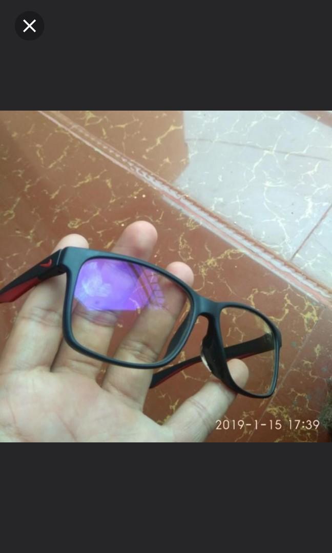 Kacamata nike pothofusion brown zeiss (normal)