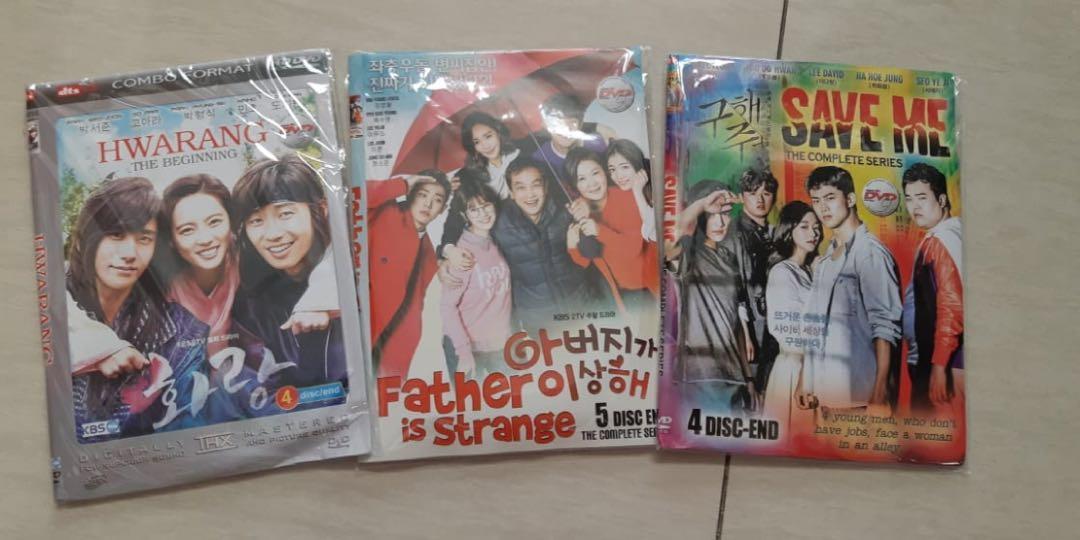 Kaset DRAMA KOREA | FULL | DVD KOREA | HWARANG, dll