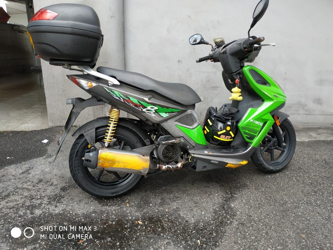 Kymco Super 8, 125cc, Motorbikes, Motorbikes for Sale, Class