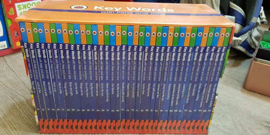 LadyBird Key Words 36 books