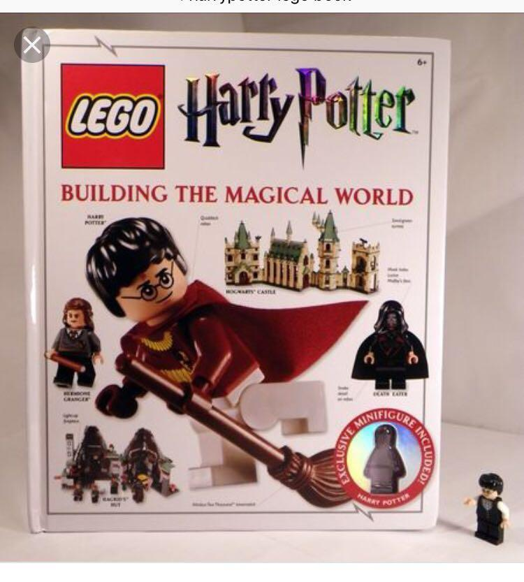 Lego Harry Potter book include minifig