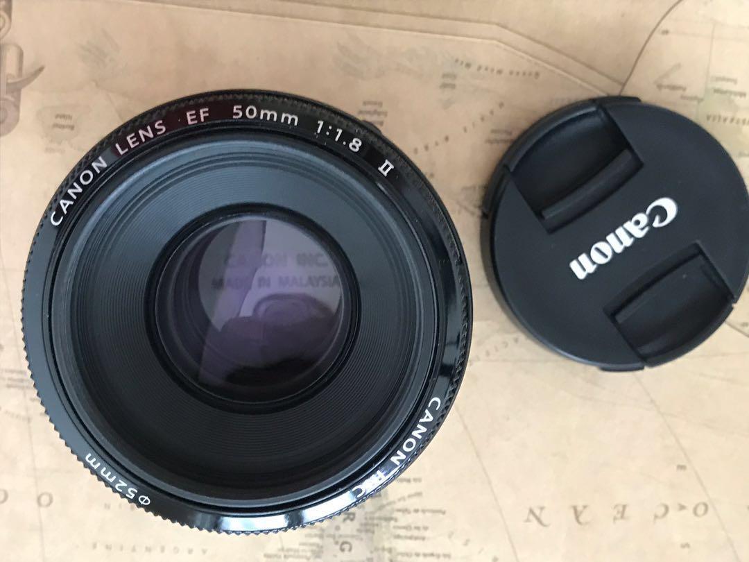 Lensa Canon 50mm f1.8 ii bukan sony/ nikon/ olympus
