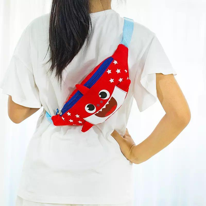 Little Baby Shark Pouch - 1R1  Size: 30*11cm
