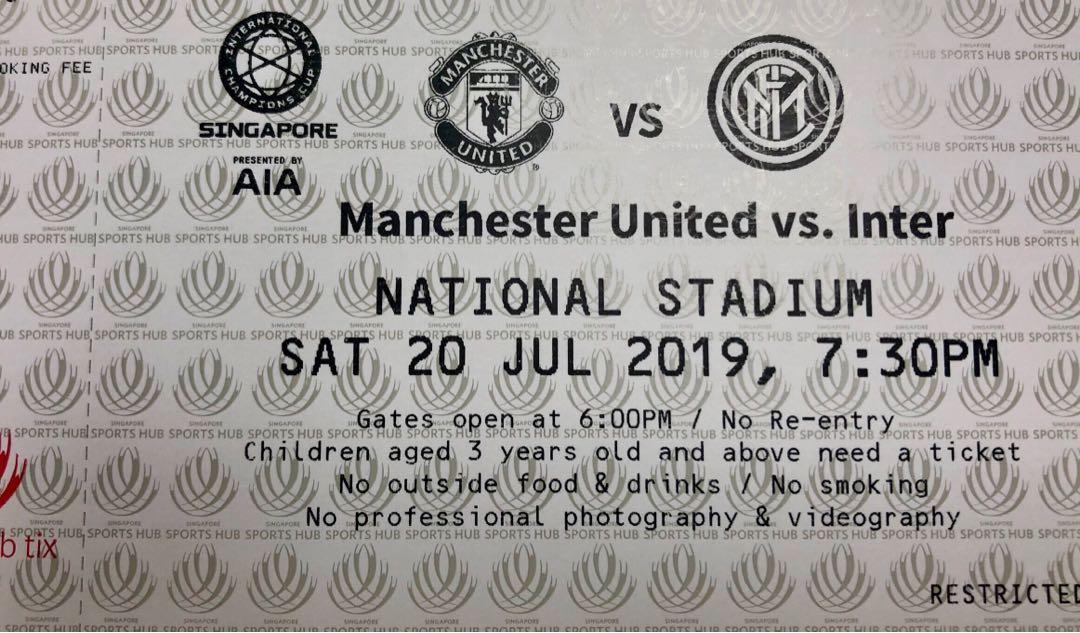 Man United vs Intermilan (Cat1)