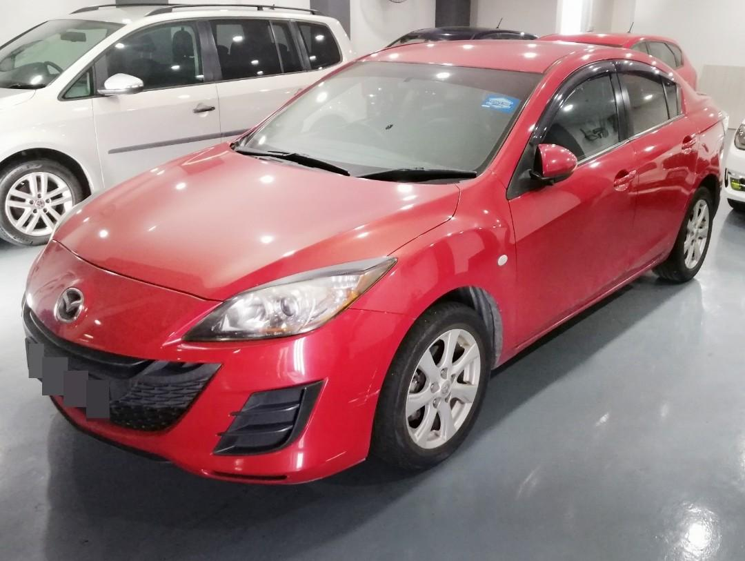 Mazda 3 Sedan 1.6 Auto Luxury for rent!