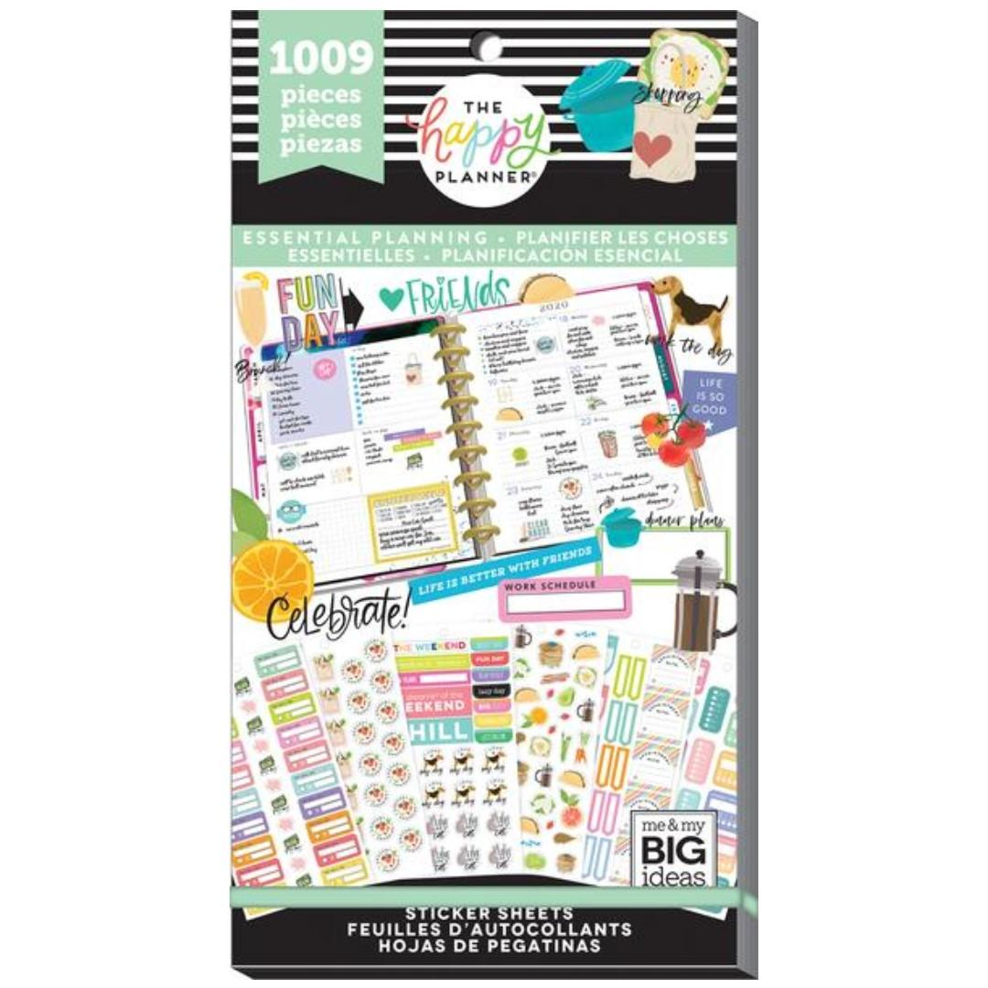 Happy Planner Rongrong Mini Notebook by Me /& My Big Ideas,Happy Notes,Stationary