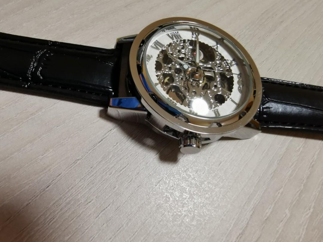 Mechanical Wristwatch (Relogios masculino De Ouro Winner Brand)