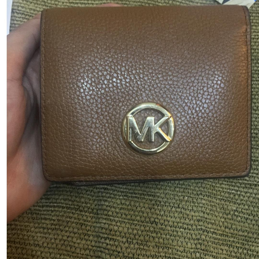 Michael kors fulton carryall card case leather wallet