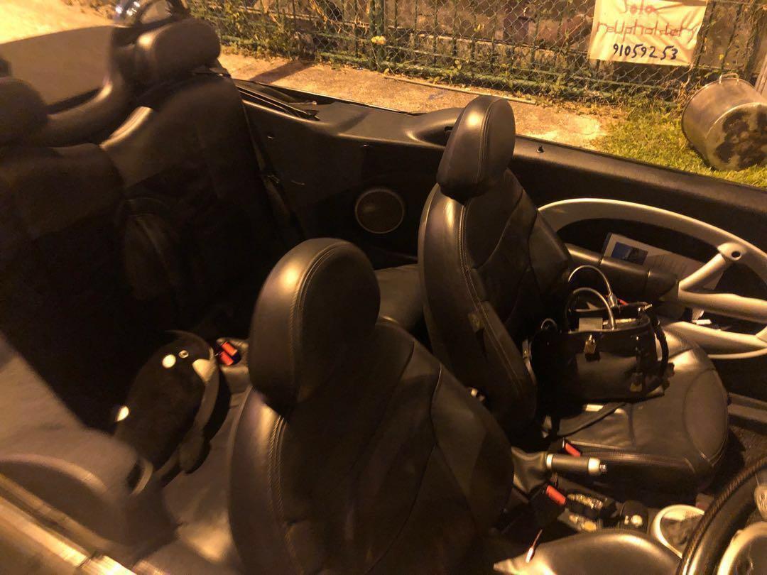 Mini Cooper Cabriolet for Rent