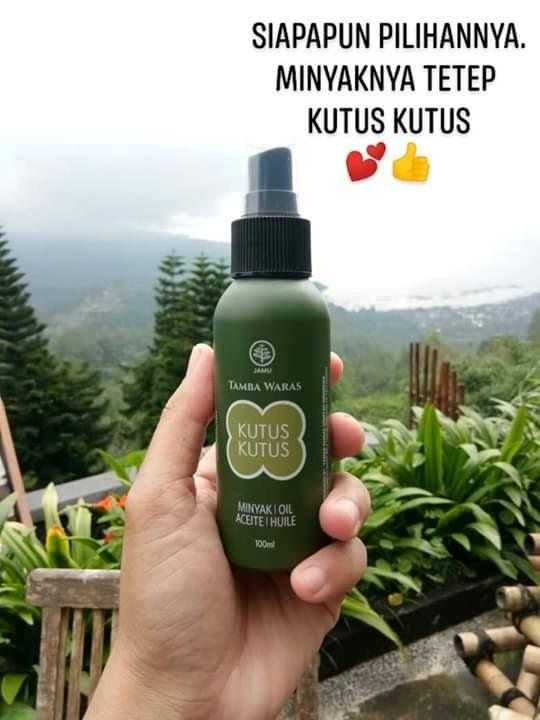 Minyak Kutus Kutus Botol Limited Edition 100ml