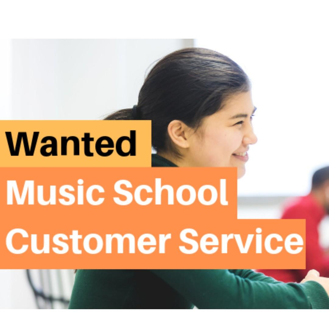 Music School Customer Service