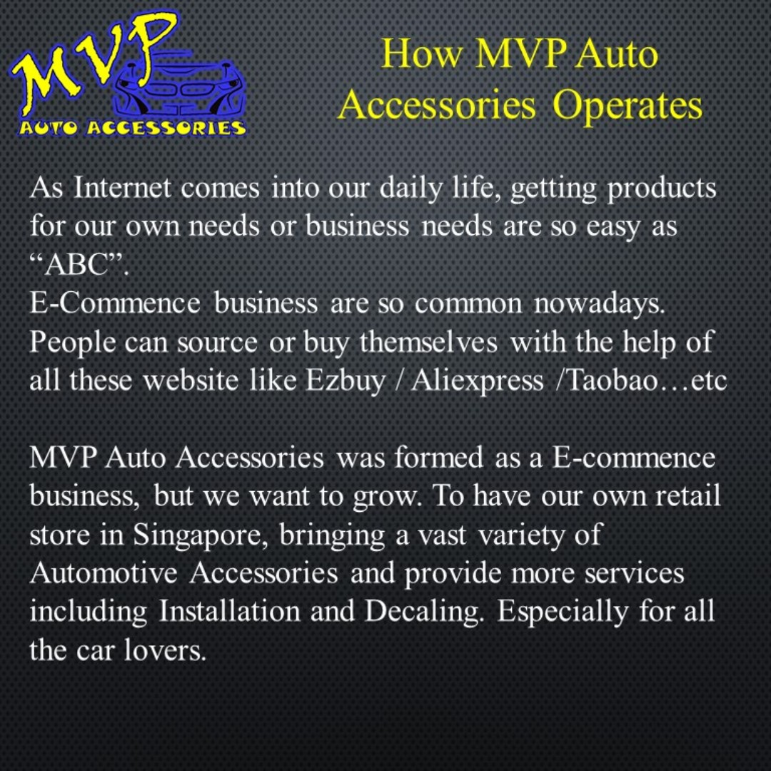 Mvp Auto Accessories Car Accessories Accessories On Carousell