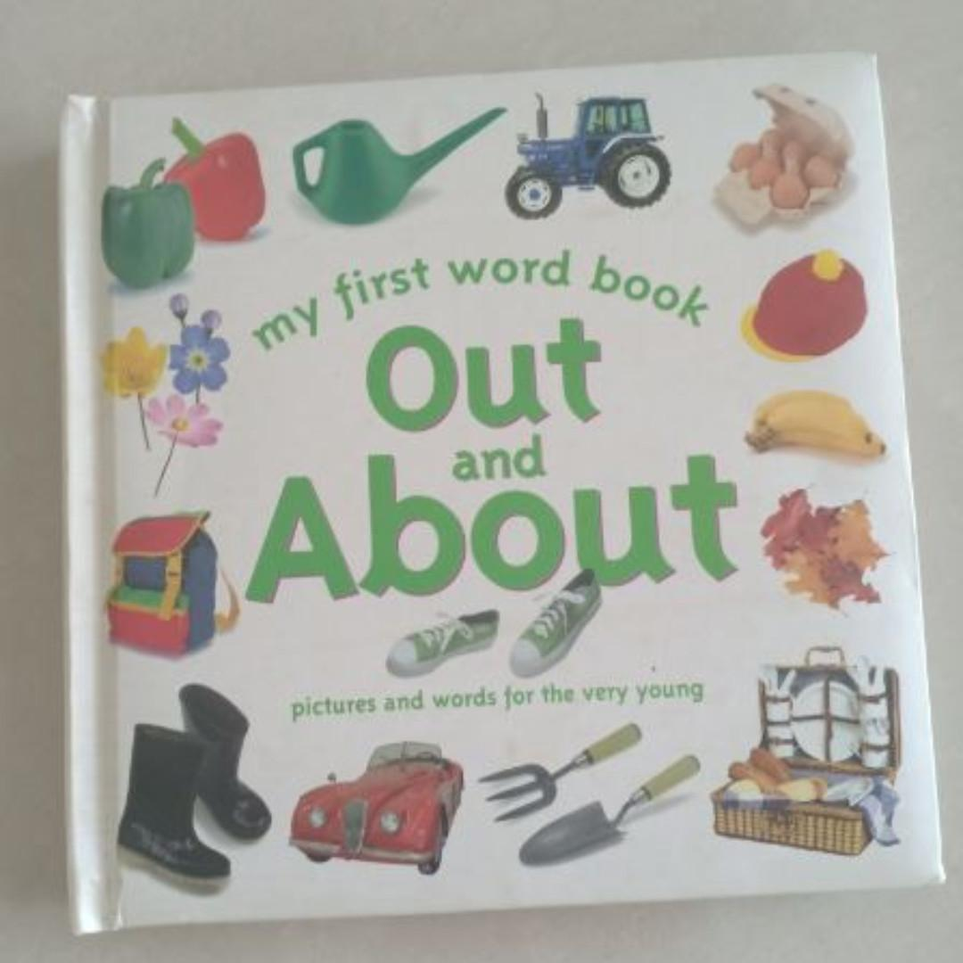 My first word book out and about