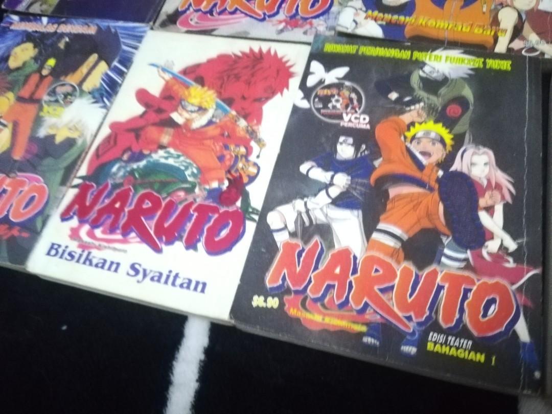 RM18 for all Naruto Manga / anime comics / komik naruto bahasa melayu