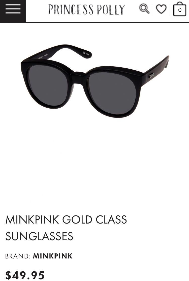 NEW MINKPINK black sunglasses