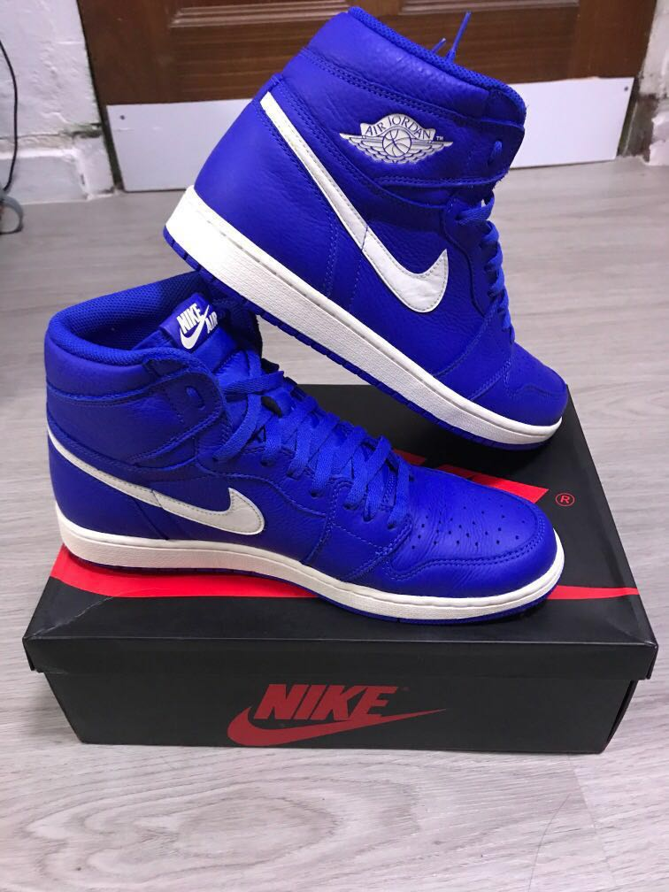 3d27073cbb5e78 Nike Air Jordan 1 Retro High OG (Hyper Royal)