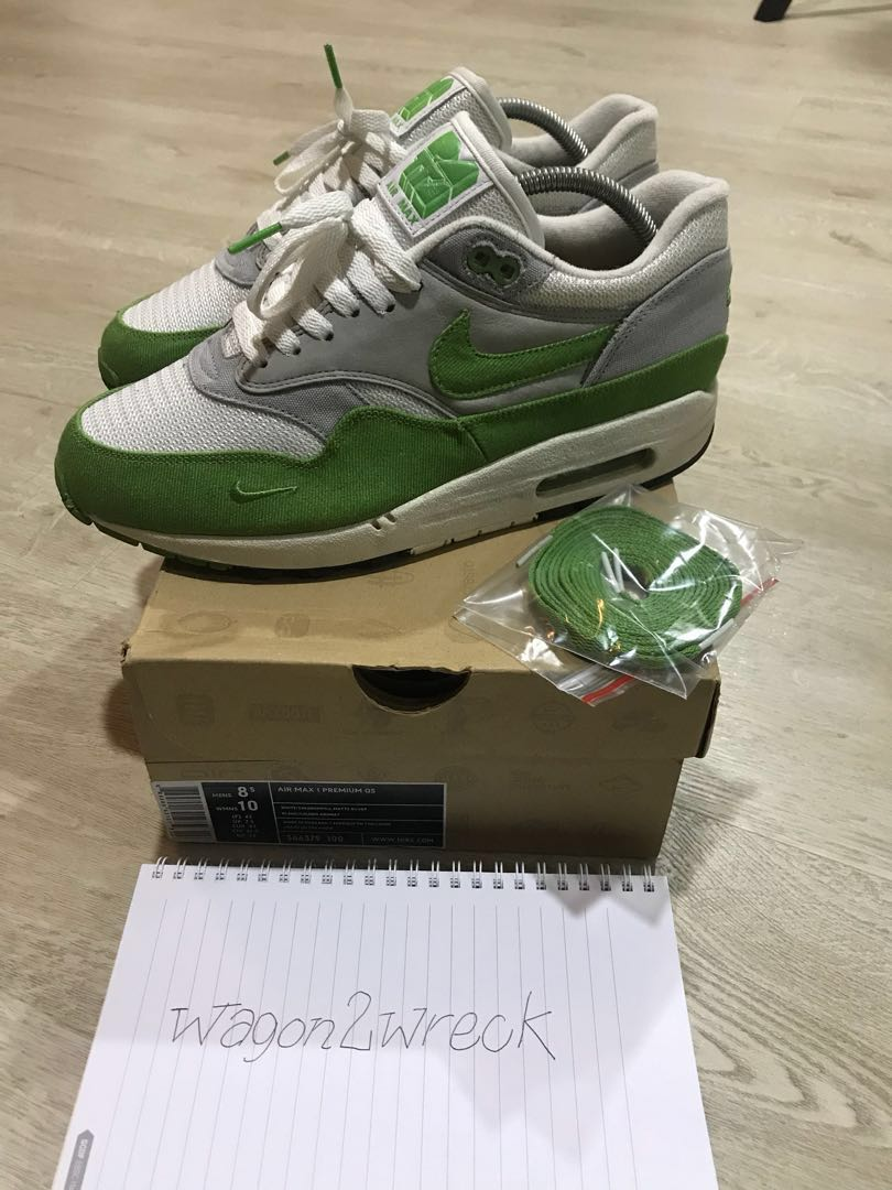 X Patta Chlorophyll Air 1 Us8 5 Wotherspoon Green Not Max Nike 92IWDEH