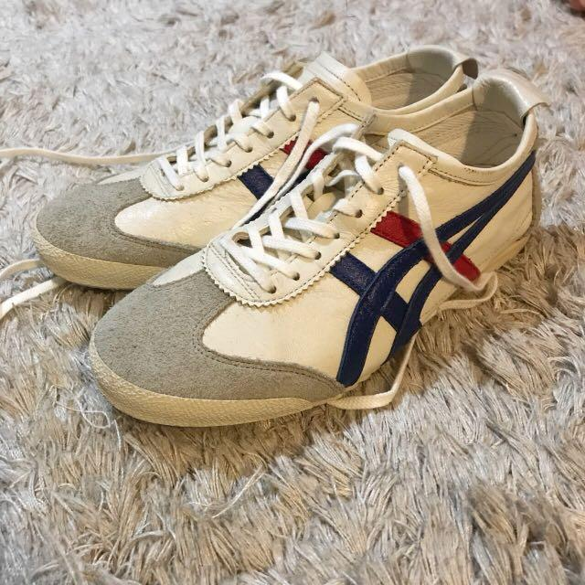 Onitsuka tiger womens leather sz 37