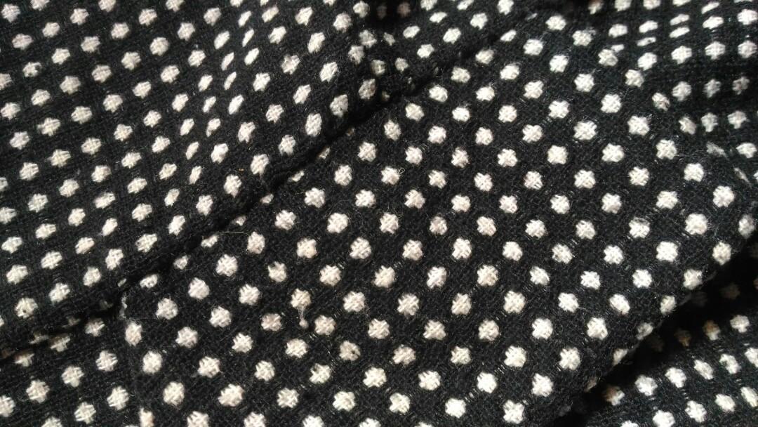 Peplum blouse monocrome