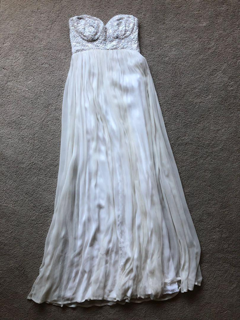 Rachel Gilbert Original White Dress