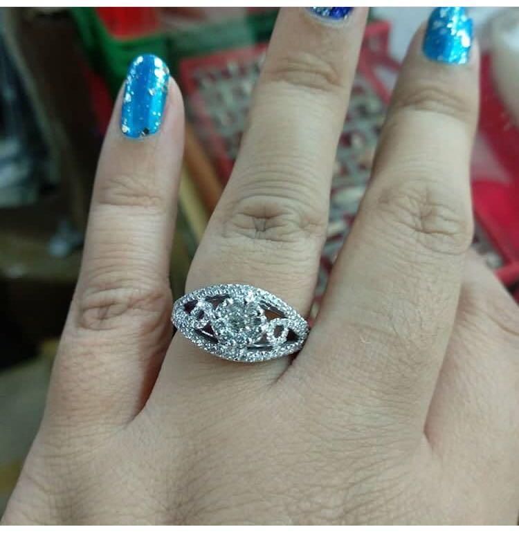 """Sale cincin berlian eropa, sangat"""" cantik dan bagus, sudah besar yaa"""
