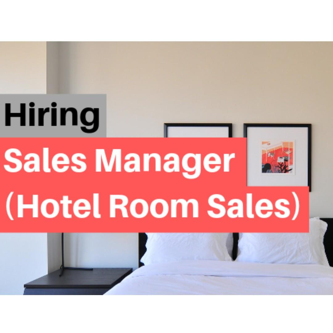 Sales Manager (Hotel Room Sales)