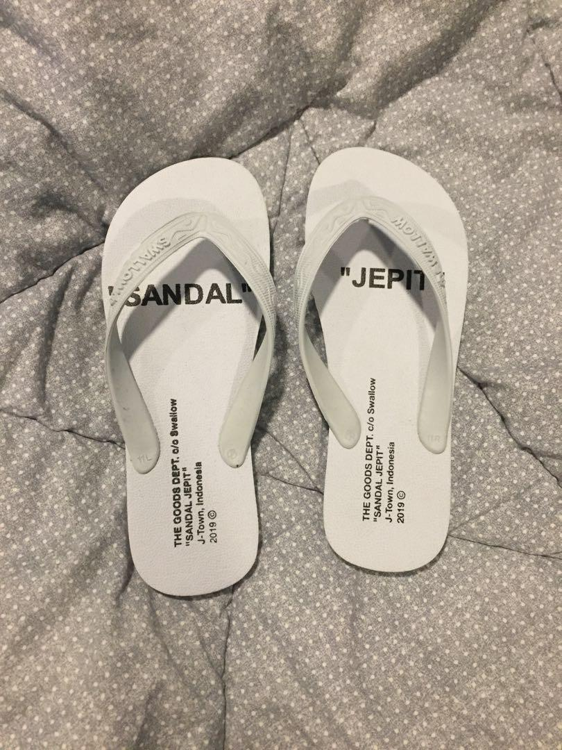 Sandal Jepit Swallow x Goods dept